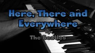THE BEATLES: Here, There and Everywhere (jazz-style piano)