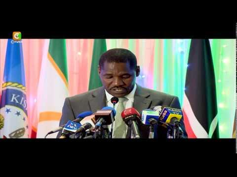 Munya  Achaguliwa Kuwa Mwenyekiti, COG