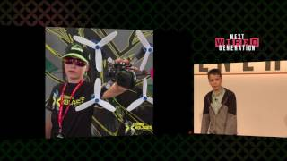 WIRED Next Generation 2016: Luke Wolferstan-Bannister shows off his drone skills