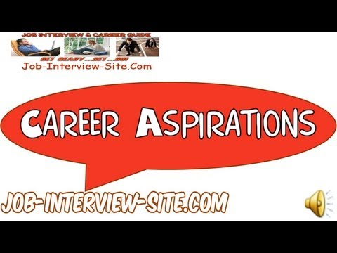 mp4 It Career Aspiration Examples, download It Career Aspiration Examples video klip It Career Aspiration Examples