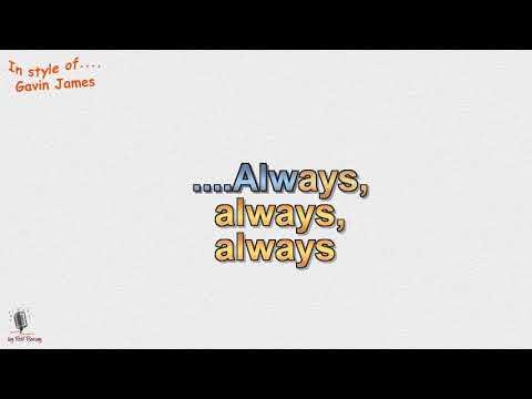 Gavin James - Always - Instrumental