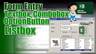 Learn Excel -Video 259- VBA- TextBox Command button - Forms
