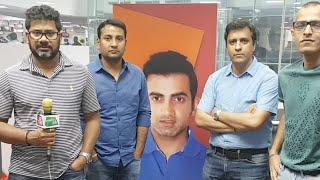 #IPL2018: Will Gambhir Play Today Against KKR | Sports Tak