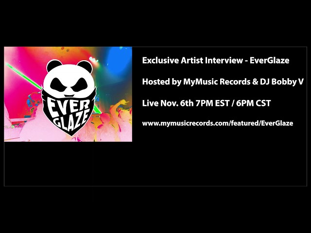MyMusic Records - Exclusive Artist Interview - EverGlaze