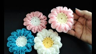 Crochet.  Crochet Flowers. Keeping You Busy During The Lockdown. Take Care Everyone Xxxx