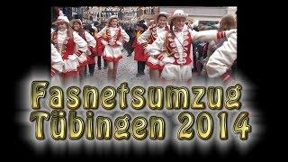 preview picture of video 'Fasnetsumzug Tübingen 2014'