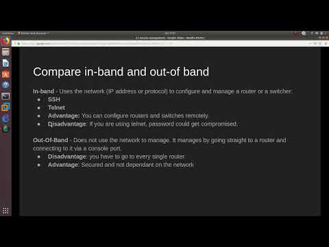 CCNA Security IINS Exam Topics | 2.1.a Compare in-band and out ...