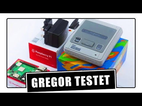 Gregor testet Super Ursus SNES Raspberry Pi / Retropie / Recalbox-Case (Review)