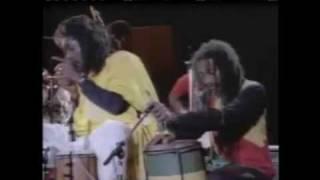 Peter Tosh LIVE! - Rastafari Is (nyabinghi drum session)