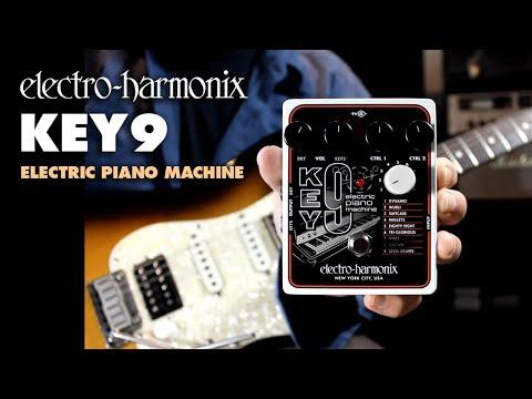 electro harmonix key 9 electric piano machine pedal macdaddy music. Black Bedroom Furniture Sets. Home Design Ideas