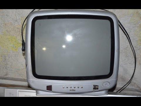 Ремонт телевизора Jinlipu. Изображение посветлело (побелело) и появились горизонтальные полосы