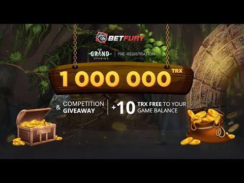 1 Milhão de TRX no Evento de Giveaway do Dapp BetFury !!!! Sensacional ...