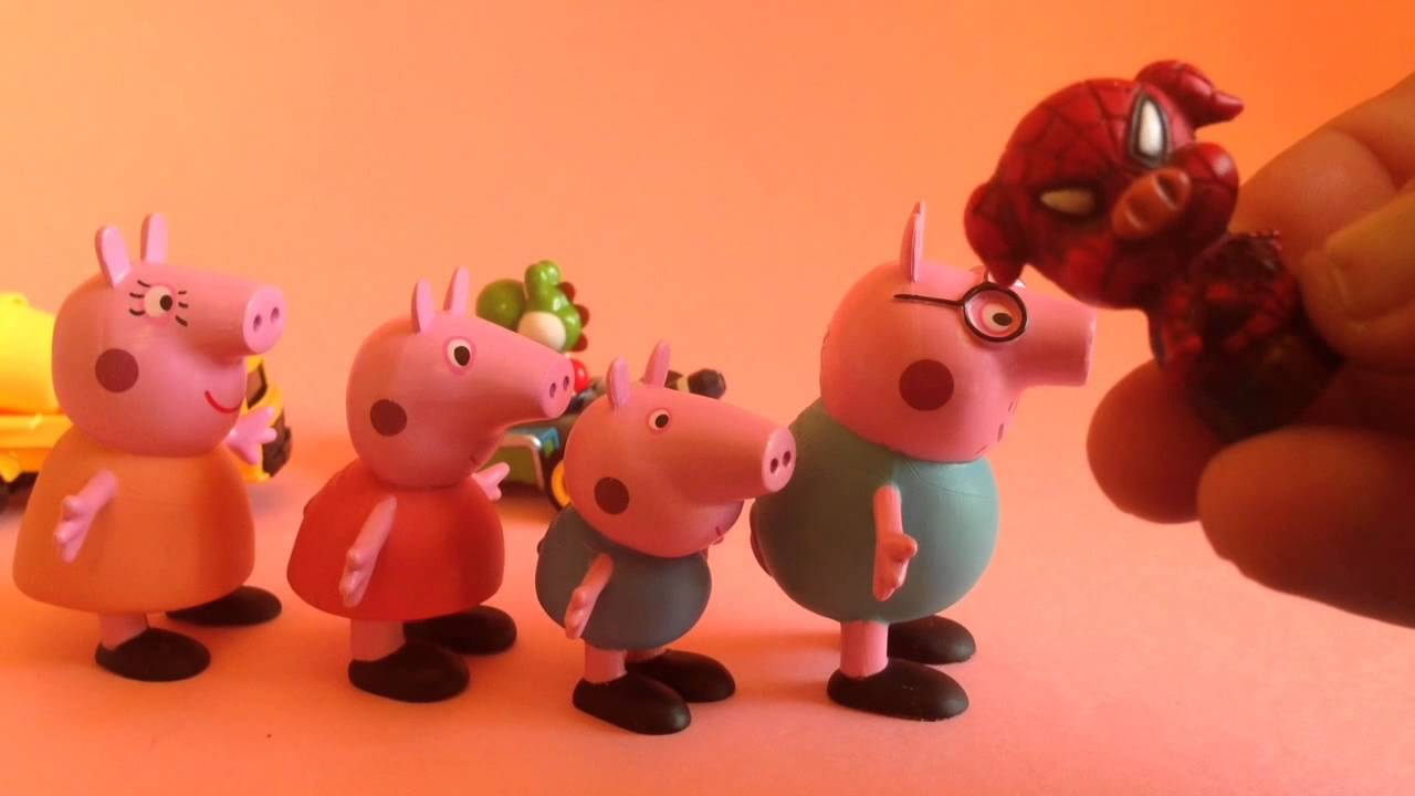 Peppa Pig ¡salvada por SUPERPIG!