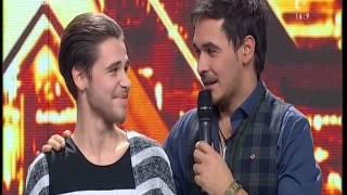 Fostul concurent Say Ufuk Ghenghiș, în lacrimi, pe scena X Factor!