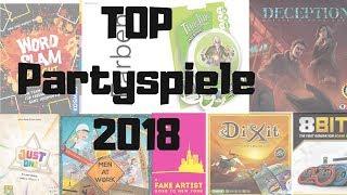 BESTEN PARTYSPIELE 2018 | Brettspiel Geeks | Brettspiele