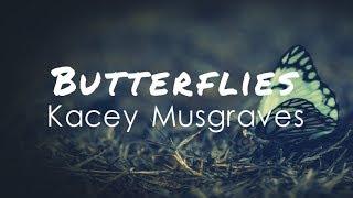 Gambar cover Kacey Musgraves - Butterflies (Lyric Video)