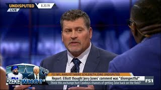 "Undisputed | Mark Schlereth REACT to Zeke Found Jerry Jones's 'Zeke Who?' Comment ""Disrespectful"""