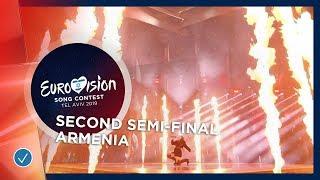 Srbuk - Walking Out - Armenia - LIVE - Second Semi-Final - Eurovision 2019