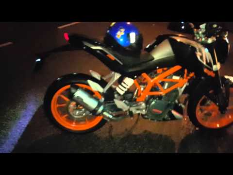 Ktm duke 250 2015 exhaust sound