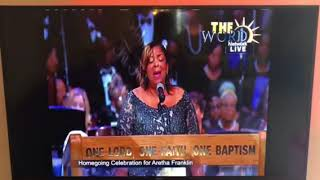 Alice McAllister Tillman sings Ave Maria at Aretha Franklin's Funeral