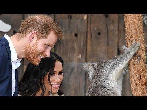 Принц Гарри и Меган Маркл объявили о будущем наследнике в Австралии