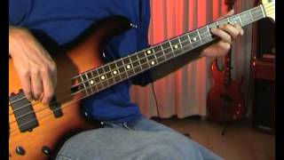 10cc - Good Morning Judge - Bass Cover