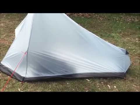 "3F UL Gear Ultralight 1-person Tent  ""Review"""