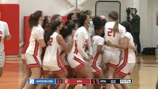 Highlights: NFA 57, Waterford 33 in the ECC South girls' basketball final