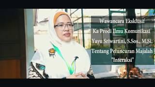 Universitas Nasional – Wawancara Eksklusif Yayu Sriwartini, S.Sos., M.Si. (Prodi Ilkom)
