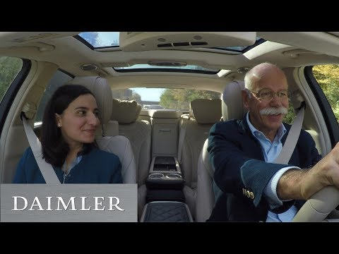 Carpool Recruiting: Mit Dieter Zetsche im Mercedes-Benz