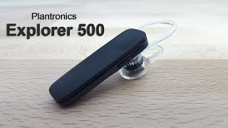 סקירה לדיבורית בלוטוס של Plantronics מדגם Explorer 500