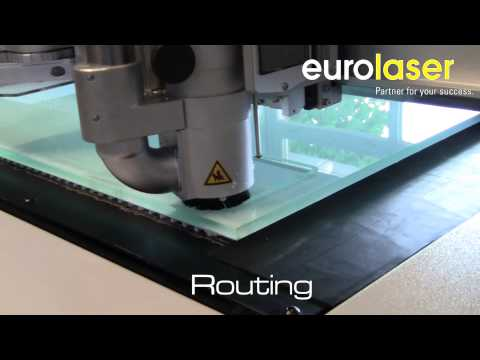 2 in 1 - Acrylic (10 mm) processing | Laser cutting and routing