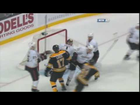 Milan Lucic vs. Mike Brown