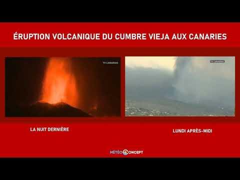 Illustration de l'actualité Éruption du Cumbre Vieja aux Canaries