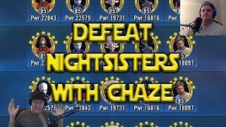 RJT Chaze VS Nightsisters w/CubsFanHan | Star Wars: Galaxy Of Heroes - SWGoH