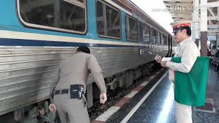เมื่อรถไฟเครื่องดับ!! จะมีสาเหตุและวิธีแก้ไขเบื้องต้นอย่างไร ไปชมกัน...ขบวน 8 สถานีพิจิตร