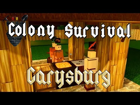 Colony Survival 0.7.0 - #2 -  No Bronze For You (4-Player Online!)