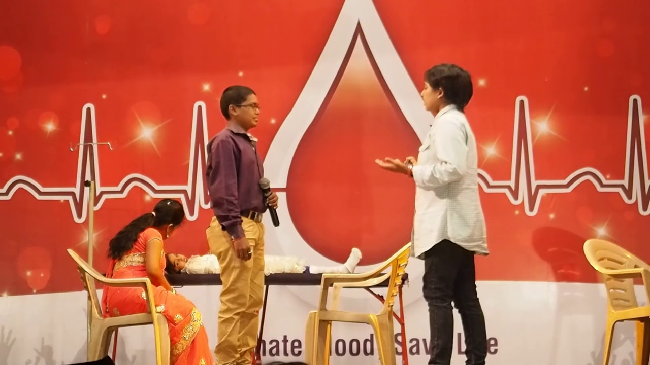 World Blood Donors Day 2018 - Skit by Thalassemia and Sickle Cell Society