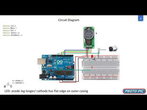 Arduino Uno Starter Kit Project - Using the RTC DS1302 Real Time Clock and Serial Monitor