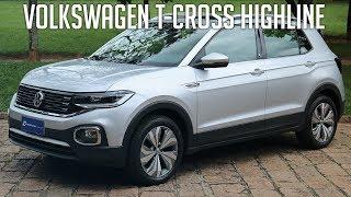 Avaliação: Volkswagen T-Cross Highline 1.4 TSI