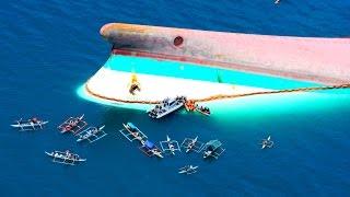 10 крупных кораблекрушений за последние 50 лет
