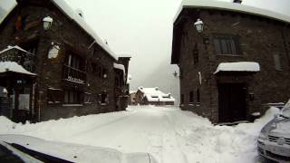 preview picture of video 'Andorramania.com - Ordino Arcalis Andorra 15/01/2013 - Nevada - Snowfall - Chûtes de neige Andorre'