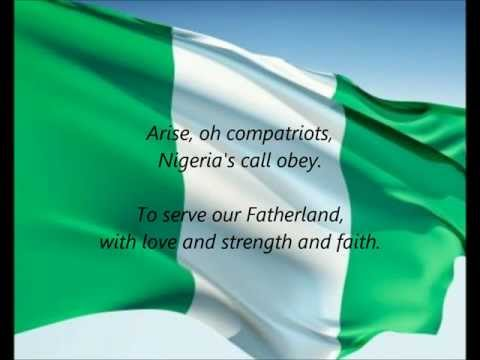 "Download Nigerian National Anthem - ""Arise, Oh Compatriots"" (EN) HD Mp4 3GP Video and MP3"