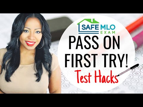 PASSING THE LOAN OFFICER TEST | HOW TO PASS THE SAFE ...