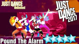 5☆ Stars - Pound The Alarm - Just Dance 2017 - Kinect