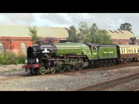 60163 'Tornado' passes Newton Abbot with the last 'Torbay Ex…