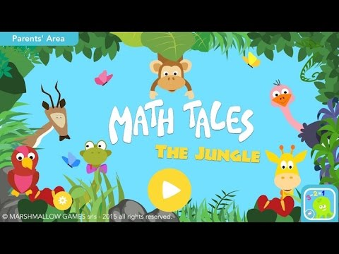 Screenshot of video: Maths Tales App