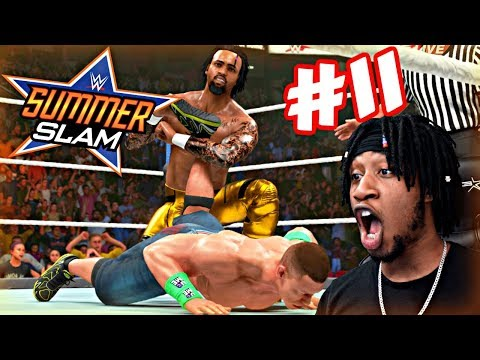WWE 2K19 MyCAREER - THE BIGGEST MATCH OF MY CAREER!! JOHN CENA VS THE PROTOTYPE AT SUMMERSLAM!