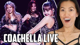 Blackpink   Kill This Love (Live) Coachella Reaction | First Time A Kpop Band Performed At Festival!