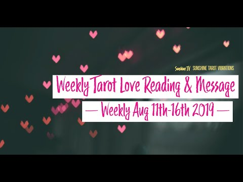 AQUARIUS💕 Weekly Aug  11-16 2019:AT THE RIGHT TIME IT WILL HAPPEN, TRUST THE SITUATION💕